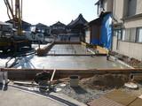 基礎 配筋検査 〜 コンクリート