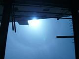 杭芯確認・・・青い空