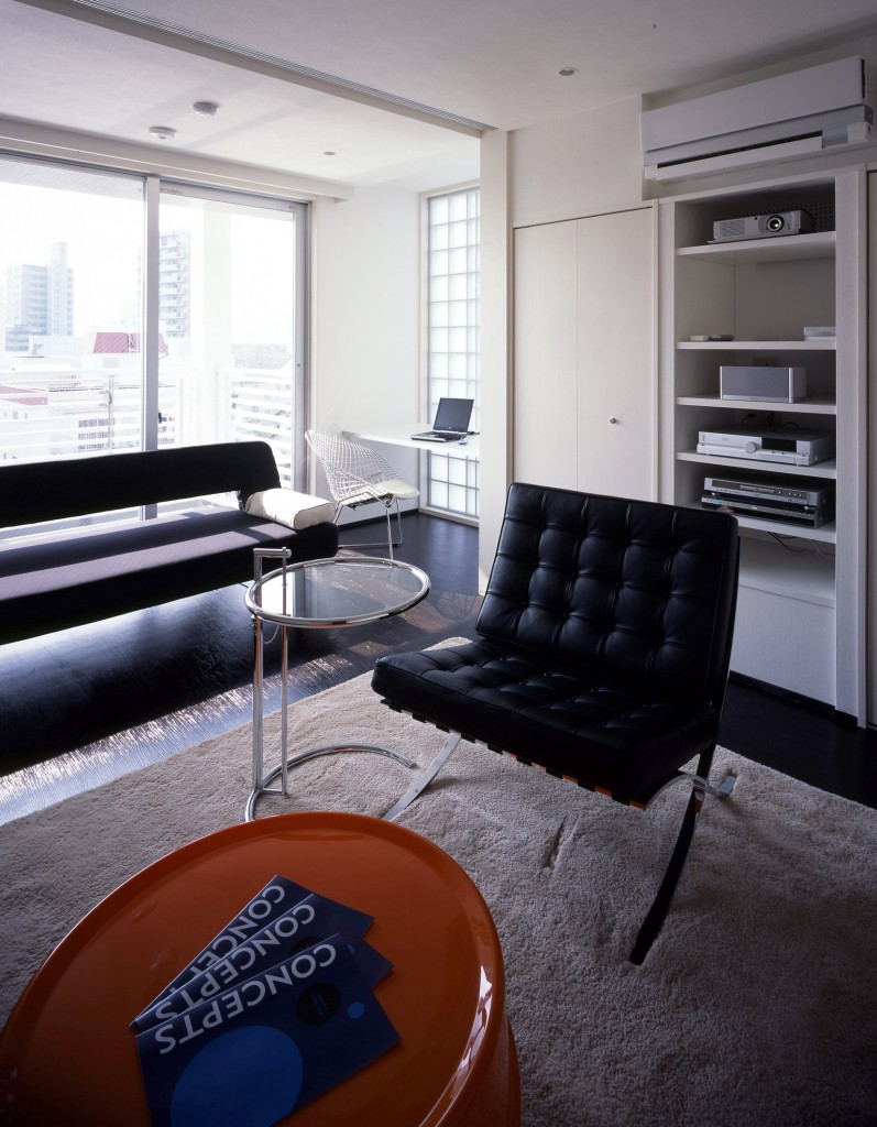広島のデザイナーズマンションの一室